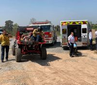 New ATV aids Calif. firefighters in rescue of injured mountain biker