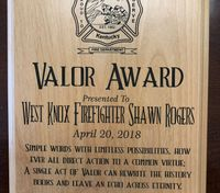 Ky. firefighter honored for helping save man's life