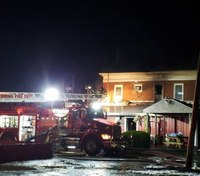 Ohio fire destroys historic inn, stop on Underground Railroad