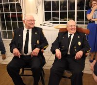 Two Conn. firefighters honored for 50 years of volunteer service