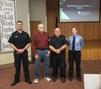 Man reunites with first responders who 'saved his life' during a snow storm