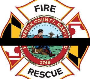A 14-year member of the Frederick County Division of Fire and Rescue Services died Tuesday morning in an accident involving a tractor. (Photo/Frederick County (Md) Fire & Rescue)