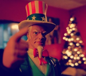 Maybe it's time to talk about grant seekers that confuse Uncle Sam, the personification of the American government, with Santa Claus. (Photo/Flickr)