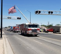 NM firefighter released from hospital after June fireworks explosion