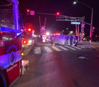 4 first responders injured in Calif. ambulance crash