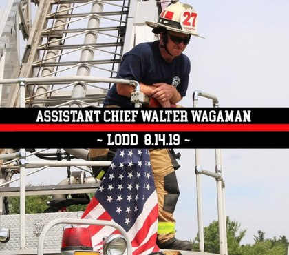Pa. assistant chief dies 2 weeks after being thrown from truck