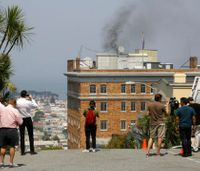 Firefighters turned away from Calif. Russian consulate despite smoke pouring from building