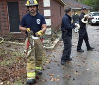 Texas firefighters save more than 100 snakes from house fire