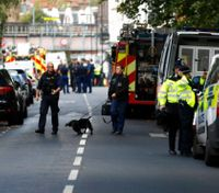 Officials search for perpetrators of bomb on London subway, 29 wounded