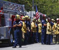 Police: Gunman lured firefighters to retirement home in fatal shooting