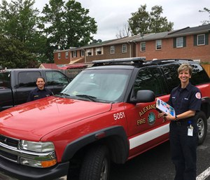 The Alexandria Fire Department launched a Mobile Integrated Health/Community Paramedicine Program. (Photo/Alexandria Fire Department)