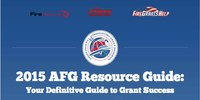 How to win a 2015 AFG grant