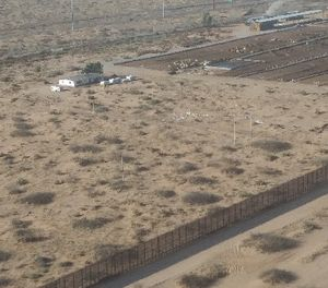 Effective enforcement efforts at the US-Mexico border are affected by manpower shortages, multi-jurisdictional issues, and remote and inhospitable terrain. (Photo/Joseph J. Kolb)