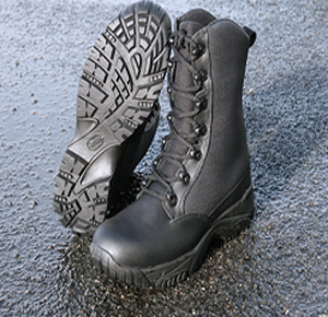 The secret to the ALTAI MF Tactical Tall/Short Black boot's durability is its highly functional upper material built using SuperFabric. (Image ALTAI)