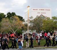 Heavy police presence surrounds Fla. high school as students return