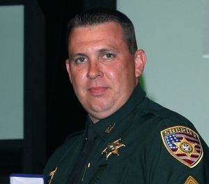 This 2010 photo provided by the East Baton Rouge Sheriff's Office shows Sgt. Shawn Anderson, who was fatally wounded in the line of duty in 2017.  (East Baton Rouge Sheriff's Office via AP)
