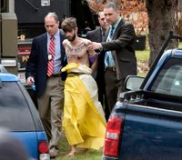 Slain Maine deputy's handcuffs used to arrest his suspected killer