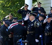 Mass. officer killed in the line of duty is laid to rest