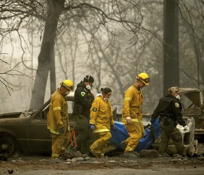 Northern Calif. fire death toll at 56; 130 missing