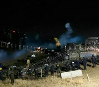 ND LE ask judge to throw out pipeline protester's lawsuit over injury