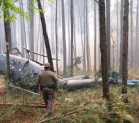 Forest Service firefighter killed in Texas helicopter crash