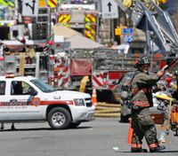 Authorities: 25 injured in NC gas explosion, including 9 FFs