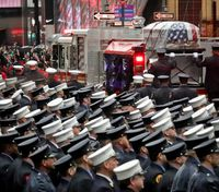 'The best in us': A fallen Marine and firefighter is honored