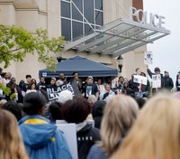 100-plus rally in protest of fatal Okla. police shooting