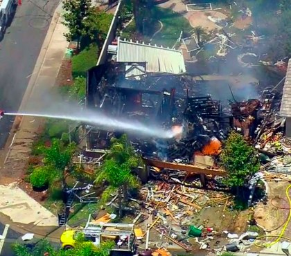 1 dead, 15 hurt in Calif. home gas explosion