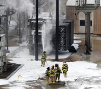 Madison, Wis., FD crews battle power station fires