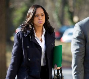 In this March 3, 2016, file photo, Baltimore State's Attorney Marilyn Mosby arrives at Maryland Court of Appeals in Annapolis, Md. (AP Photo/Jose Luis Magana, File)