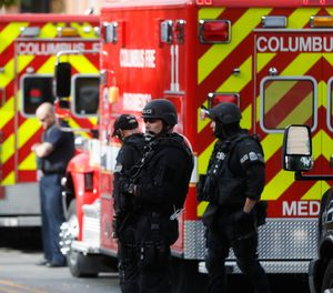 "Active shooter incidents in EMS have ""averages of four – four dead and four injured."" But there is significant range in the number of patients who need EMS transport. (Photo/AP)"