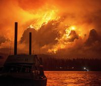 Teen ordered to pay more than $36M for starting Ore. wildfire