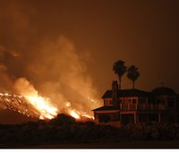 Firefighters happen upon house fire, evacuate unaware residents