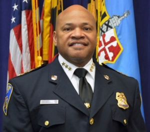 This undated image provided by the Baltimore Police Department shows Deputy Commissioner Gary Tuggle of the Baltimore Police Department who will serve as acting commissioner. (Baltimore Police via AP)