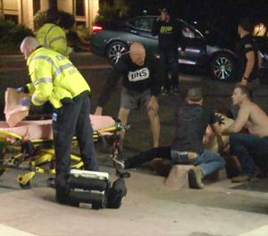 Twelve people, including the 28-year-old gunman, were killed and Ventura County Sheriff Geoff Dean reported at least 10 to 15 others were injured during the shooting at the Borderline Bar & Grill. (Photo/AP)