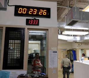 Control officers are often very busy focusing on keeping inmates in the right places within a jail or a prison. (AP Photo/Eric Risberg)