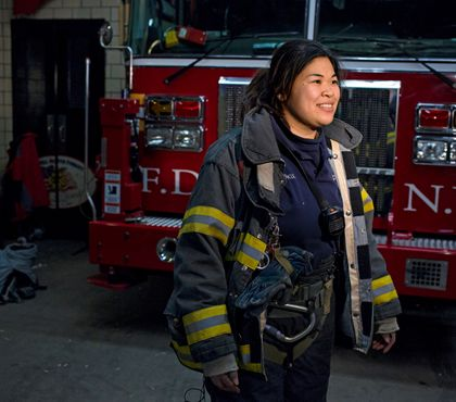 Female firefighters defy old ideas of who can be an American hero