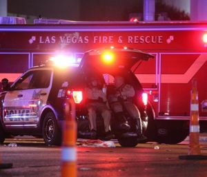 An astounding 58 people died during the Las Vegas shooting and over 500 were taken to area hospitals in 10 to 15 minutes of aggressive mayhem that changed many of us in many ways, and will continue to affect us for many years. (Photo/AP)