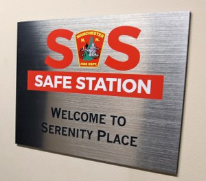 Safe Stations, a program begun in Manchester, New Hampshire, in 2016, is an initiative that allows fire stations to be the first point of entry for someone with addiction issues to access help. (Photo/AP)