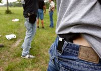 Va. bill that would allow responders to conceal, carry weapons passes Senate