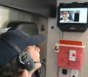 Telemedicine has more purpose and application than just mobile integrated healthcare environments; it can be used in your everyday 911 response EMS system, on every ambulance. (Photo/University of Arkansas for Medical Sciences)