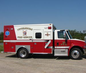 Petersburg officials recently cut ties with 10 part-time paramedics, who were initially hired as a way to reduce costs after the city reduced business with Southside Emergency Crew. (Photo/PFR)