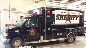 The unit is an example of reinventing the wheel and its implementation is limited only by an agency's imagination. (Photo/Anoka County Sheriff's Office)