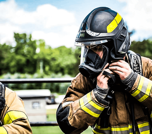 The MSA Cairns XF1 fire helmet is designed for today's firefighters (image/MSA Safety)
