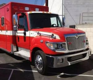 Bodega Bay Fire Protection District attempted a crowd-funding campaign to purchase this ambulance. (Image Indiegogo)