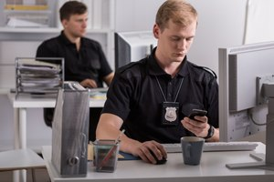 Millennials, including police, are accustomed to using mobile tools. (photo/Nuance)