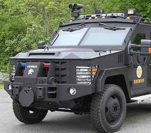 "Critics complaining about ""police militarization"" have called Lenco BearCats ""tanks"" — this not only shows a lack of knowledge of the nature of a tank, but it misrepresents the Lenco BearCat. BearCats are not weapons of destruction. (Image Courtesy of Lenco)"