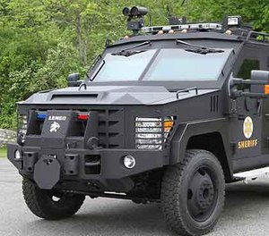 """Critics complaining about """"police militarization"""" have called Lenco BearCats """"tanks"""" — this not only shows a lack of knowledge of the nature of a tank, but it misrepresents the Lenco BearCat. BearCats are not weapons of destruction. (Image Courtesy of Lenco)"""
