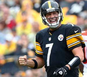 Ben Roethlisberger's foundation has distributed in excess of $1.5 million in 177 grants since 2007 and donated more than $170,000 to K-9 units around the country during the 2015 NFL season. (AP Image)